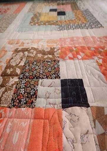 Persimmon quilt